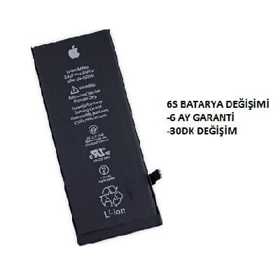 6s batarya değişimi ankara