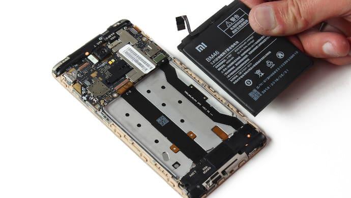 mi note 3 batarya değişimi