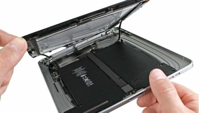 ipad batarya değişmi